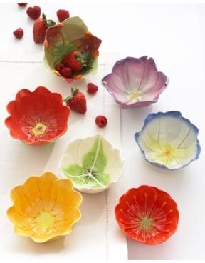 Flower dishes modern