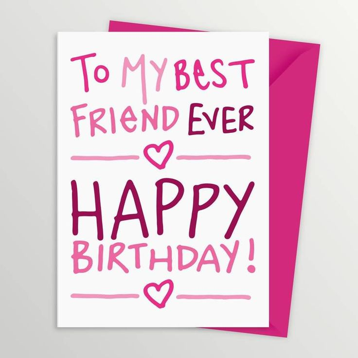 The 25 best Best friend birthday message ideas – Friend Birthday Card Messages