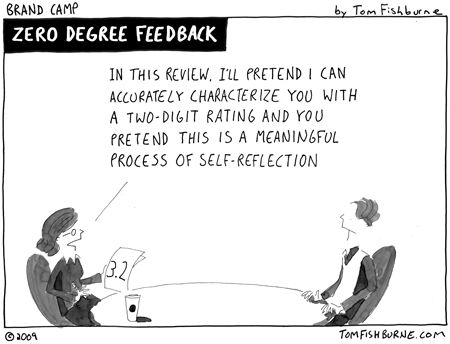 22 best Funny takes on giving and receiving feedback