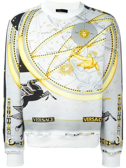 VERSACE 'Astrological'套头衫. #versace #cloth #'astrological'