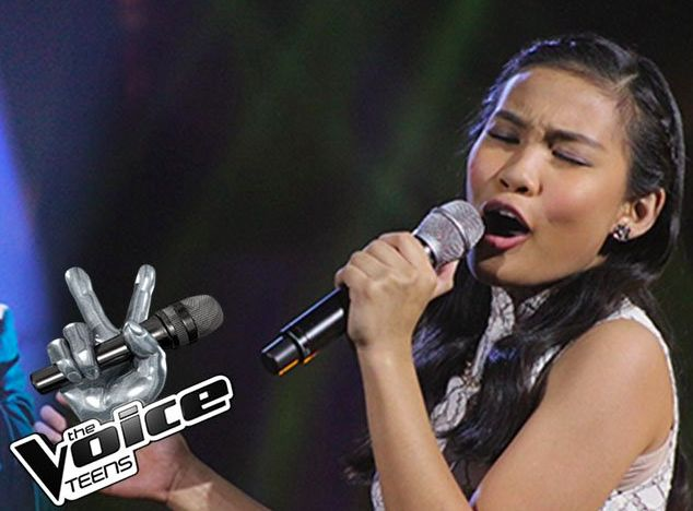 """Team Sharon's Christy Lagapa performed on ABS-CBN's reality television competition 'The Voice Teens Philippines """"Live Semifinals"""" on Sunday, July 23, 2017. Christy performed her own rendition of 'Don't Cry For Me Argentina,' a song from the 1978 musical """"Evita"""" with music by Andrew Lloyd Webber and lyrics by Tim Rice. """"You are a fighter to continue in the competition,"""" said Sarah Geronimo. """"You really put your heart on your performance. I am so proud of what you have done tonight,"""" said…"""
