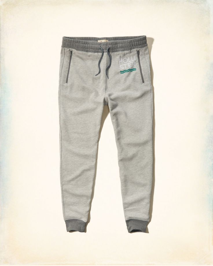 Guys Hollister Graphic Fleece Jogger Pants | Guys Jeans & Bottoms | HollisterCo.com