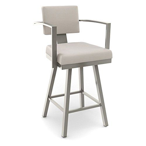 amisco akers swivel counter stool with arms 26 in amisco httpwww - Amisco Bar Stools
