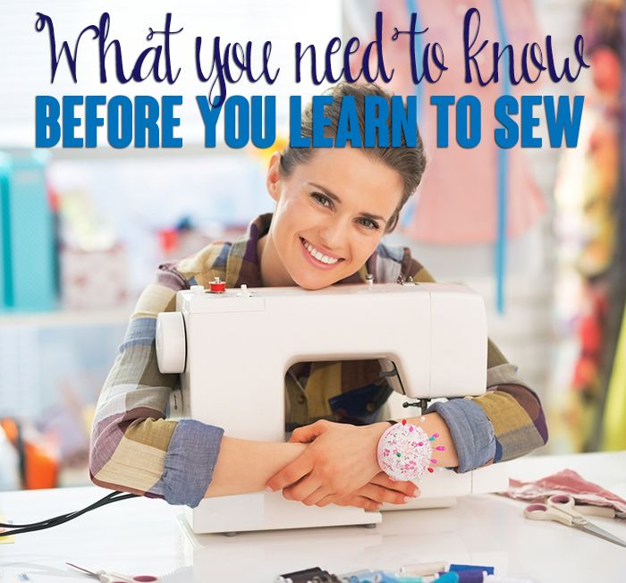 What you need to know before you learn to sew. {This is jam-packed with tons of helpful info - especially if you're new to sewing like I am!}