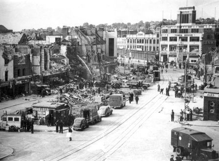 Lewisham High Street 28 July 1944 V1 Bomb incident