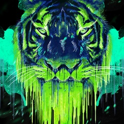 Create a Psychedelic Tiger Illustration