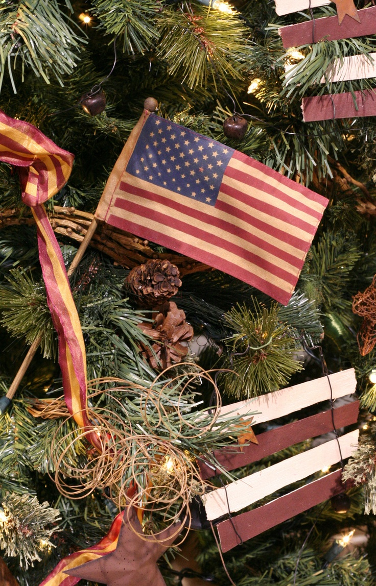 I want flags on my tree!: