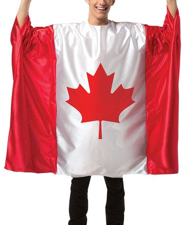 Look what I found on #zulily! Canada Flag Costume - Adult #zulilyfinds