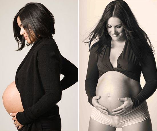 The 12 Most Naked Celebrity Pregnancy Photoshoots Of All ...