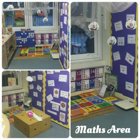 Maths area continuous provision