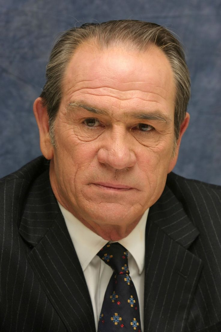 """Tommy Lee Jones - Included him because he sung """"Promised Land"""" in Men in Black (Good enough for me)"""