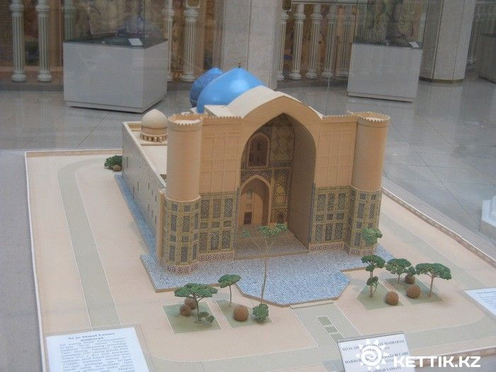 Макет мавзолей Яссауи