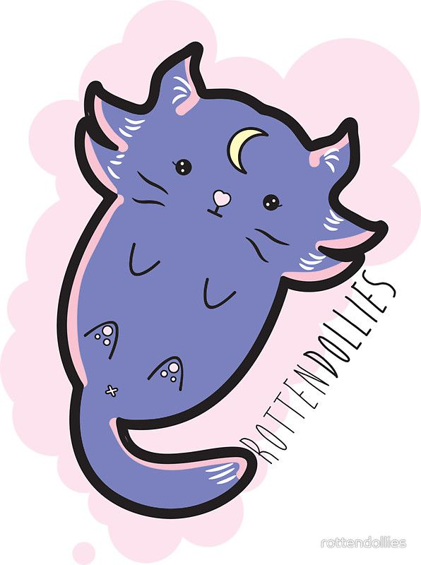 Rotten Dollies - New Beginnings Kitty (Lavender)
