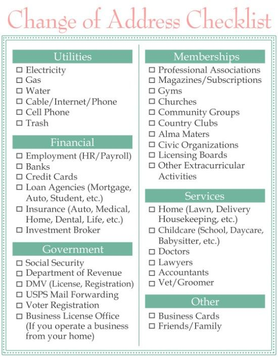 change-of-address-checklist