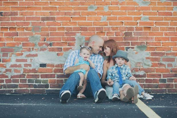Super cute urban family session: GreyLikesBaby MelissaStallings12 08 Southern Charm