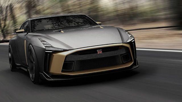 نيسان Gt R50 سيارة جديدة تظهر نتيجة تدخل التصميم الإيطالي بأشهر السيارات اليابانية Nissan Gt Nissan Gtr Nissan Gt R