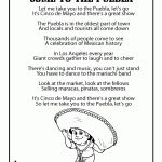 Cinco de Mayo Kids Poems & Coloring Pages