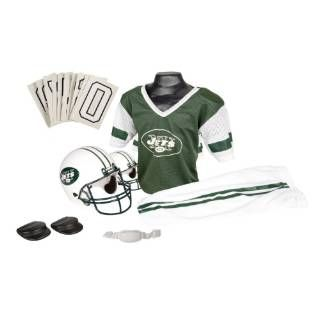 Check out the Franklin Sports 15700F25P1Z NFL Jets Small Uniform Set priced at $35.42 at Homeclick.com.