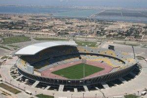 #football #stadium . Borg El Arab Stadium – Egypt