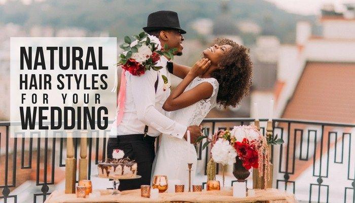 Natural Hair Styles, Wedding Hair Styles, Natural Bridal Hair Styles, Black Hair Styles