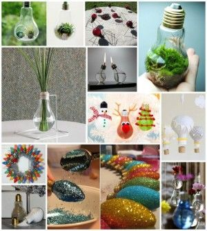 30 Fabulous DIY Light bulb Recycling Ideas and Projects