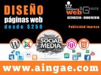 Empresa de diseño de paginas web $250 - Akyanuncios.com - Publicidad con anuncios gratis en Ecuador