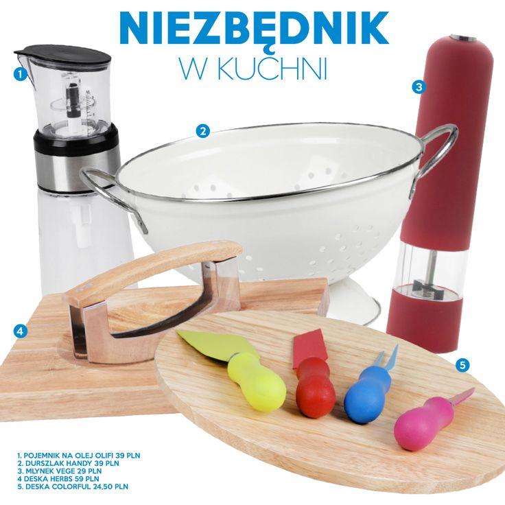 Niezbędnik w kuchni od Home&You Jakie danie wyczarowalibyście przy pomocy tych akcesoriów?  https://www.facebook.com/pages/HomeYou/366347724286