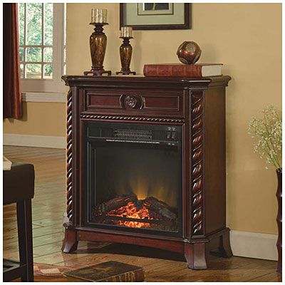 Petite Foyer Electric Fireplace At:  #BigLots  ($199.99)  ~XOX  *2/28/2016*