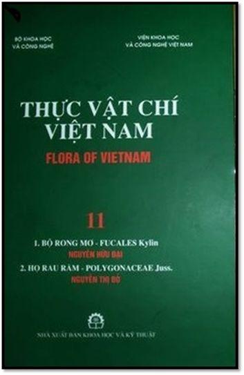 Thực Vật Chí Việt Nam Quyển 11 (NXB Khoa Học Kỹ Thuật 2007) - Nguyễn Hữu Đại, 262 Trang | Sách Việt Nam
