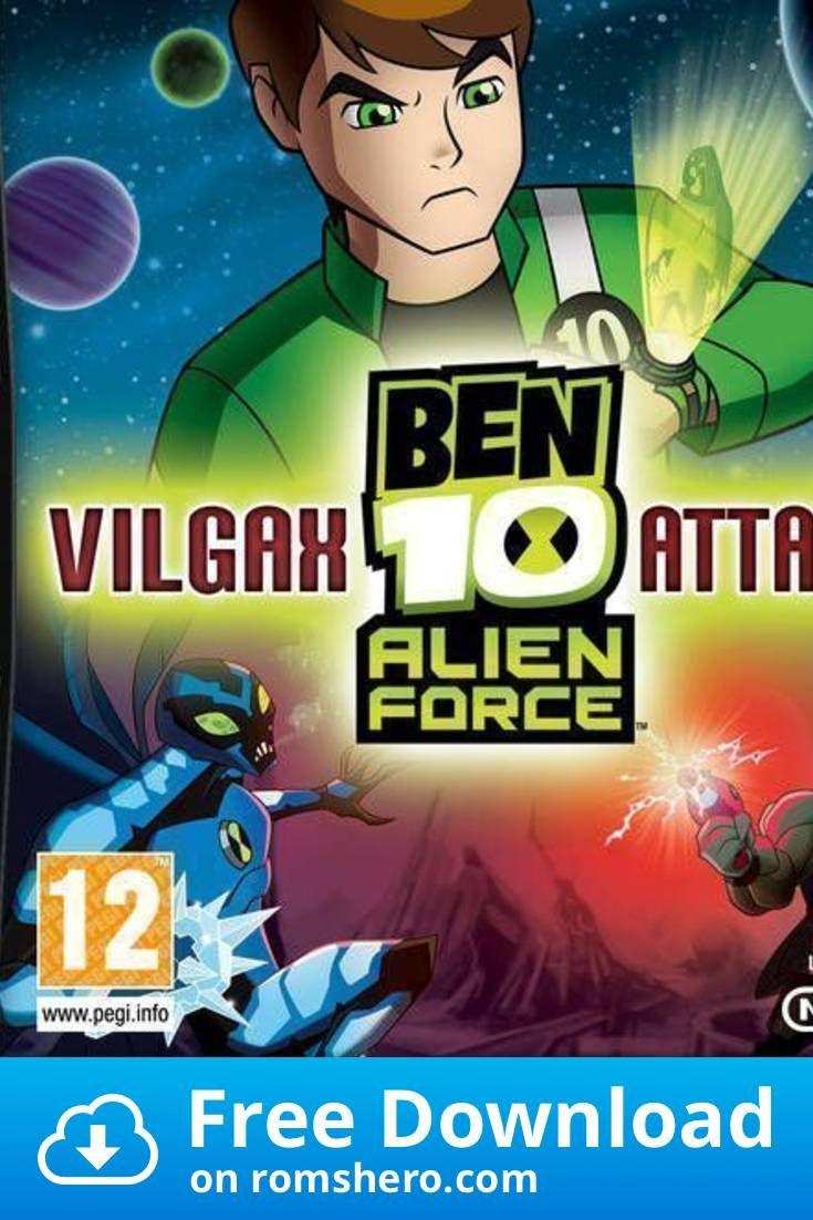 Download Ben 10 Alien Force Vilgax Attacks Eu Bahamut Nintendo Ds Nds Rom Ben 10 Alien Force Ben 10 Ben 10 Ultimate Alien