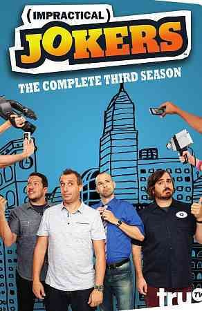 This release from the hidden-camera series Impractical Jokers includes all of the show's third season.