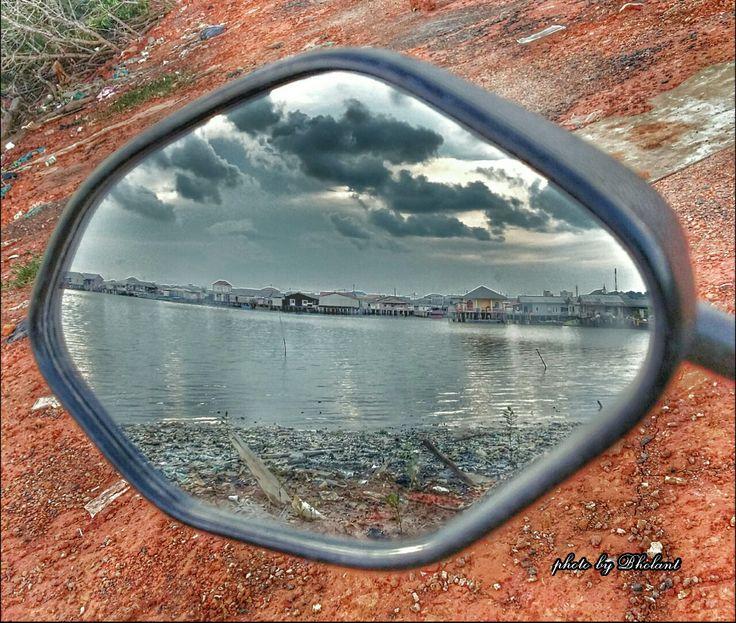 Mirror... Tanjungpinang. PinangMarina. RimbaJaya.