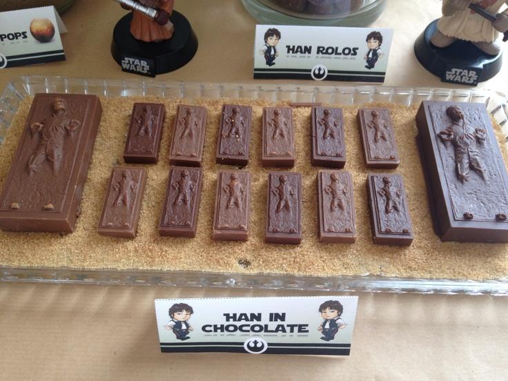 Han in Chocolate