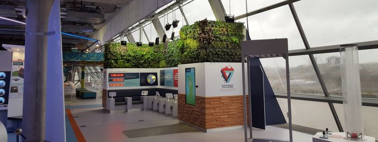 Plantas  Powering the future Display, Glasgow Science Centre | Biotecture