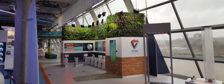 Plantas  Powering the future Display, Glasgow Science Centre   Biotecture