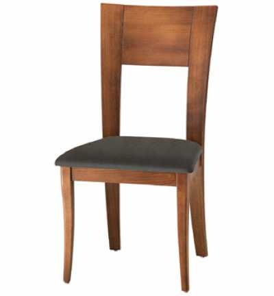Geometric Dining chair -choose your finish and choose your fabric