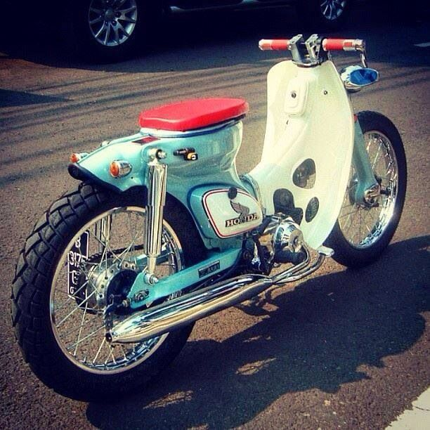 Cars & Bikes ボードのピン | Pinterest - Honda SuperCub Custom Style カスタムカブ画像集