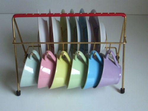 Lilienporzellan Mocca Service mit Ständer - Lilien Porzellan - Moccaservice | eBay