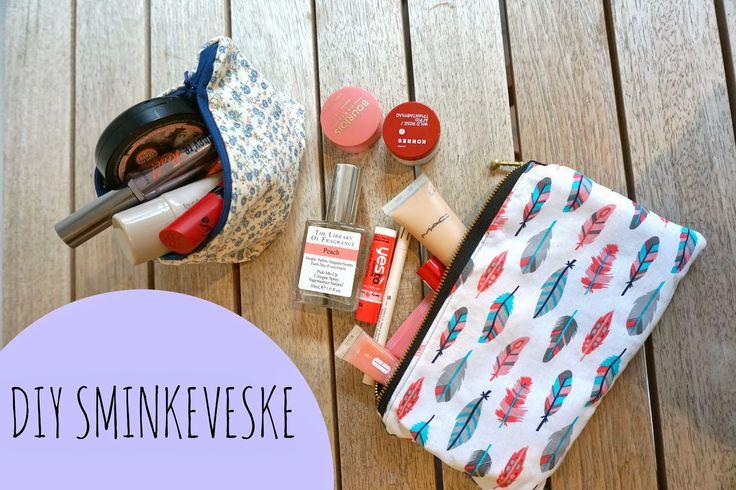 smågodt - en blogg med alt mellom himmel og jord: DIY julegaver sminkeveske makeup bag