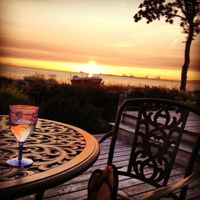 Point Roberts sunset