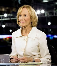 Judy Woodruff, 1946  journalist, television anchor, writer.
