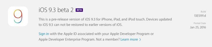 La segunda beta de iOS 9.3 incluye el interruptor para activar el modo Night Shift