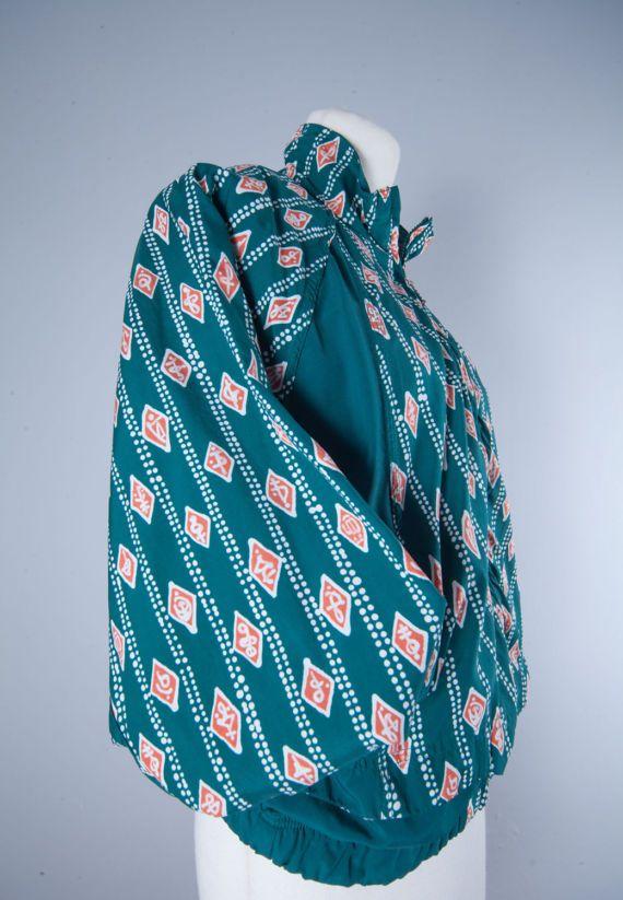Vintage Reebok Bomber Jacket by MiauhausLook on Etsy
