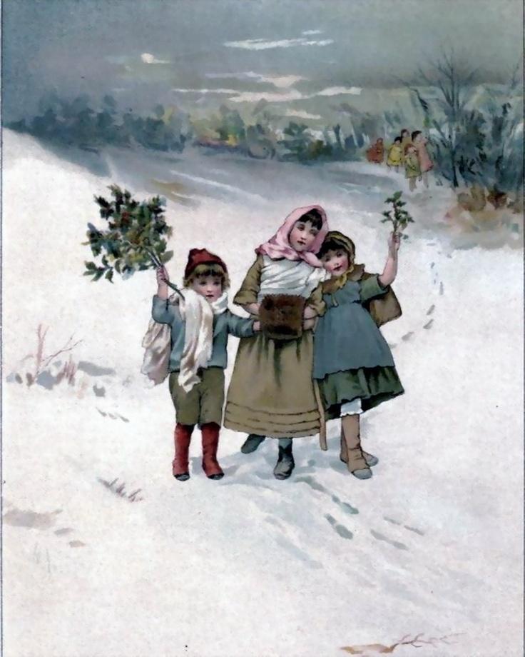 victorian christmas scenes - photo #31
