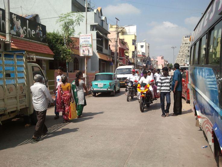 Kanchipuram - The street