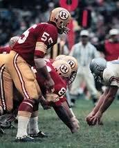 Pat Patriot, Silver Wings and Monochrome White Sox - #9 Best NFL Uniform: 1965-68 Washington Redskins