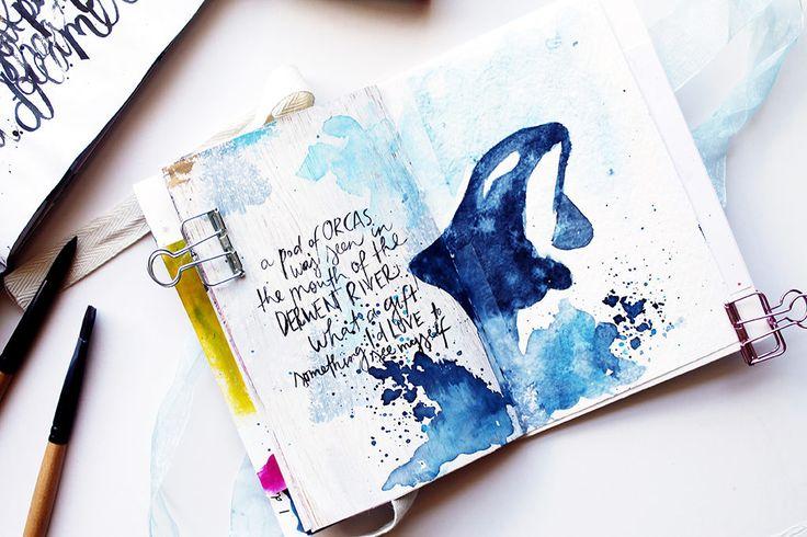 Get Messy Art Journal | Season of Gifts | Week 5