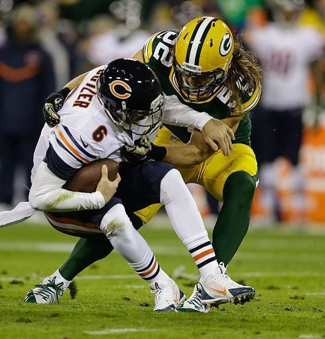 """Clay Matthews hopes next Bears QB as """"willing"""" as Jay Cutler to help him pad sack totals"""