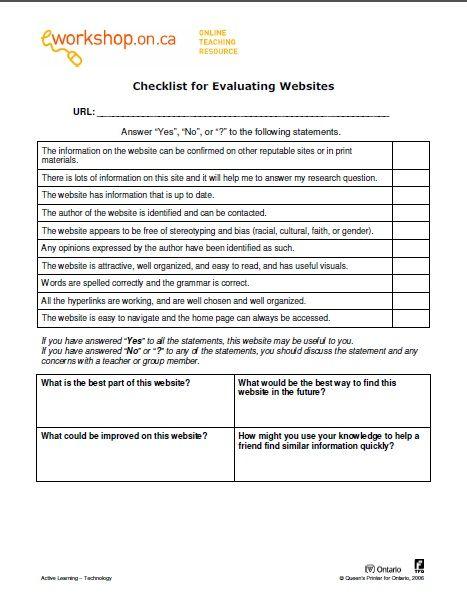 15 best Assessment Media Literacy images on Pinterest Atelier - workshop evaluation form