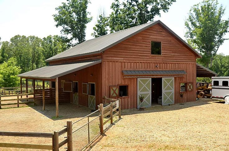 25 best ideas about barn plans on pinterest horse barns for Luxury barn plans